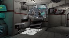 Spaceship Interior 04 by casanova92