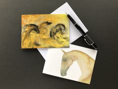 Note cards from my horse paintings.