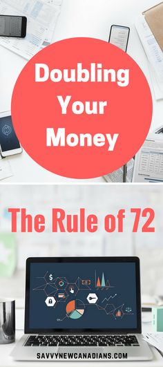 The Rule of 72 Doubling Your Money and Investment Returns - Trading Stocks Investing - Ideas of Trading Stocks Investing - Learn about a very simple way to determine how many years it will take to double the funds invested in your investment accounts. Trade Finance, Finance Tips, Finance Business, Rule Of 72, Investment Portfolio, Investment Tips, Investment Group, Investment Companies, Investment Property