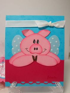 Happy Pig Day by pidgesmom - Cards and Paper Crafts at Splitcoaststampers