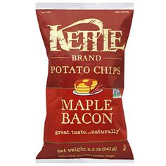 Kettle Brand Maple Bacon Potato Chips     Addicted!