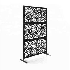 online shopping for 6 ft. H x 4 ft. W Laser Cut Metal Fence Panel e-Joy from top store. See new offer for 6 ft. H x 4 ft. W Laser Cut Metal Fence Panel e-Joy Decorative Fence Panels, Metal Fence Panels, Garden Fence Panels, Metal Screen, Decorative Metal, Privacy Fence Screen, Fence Screening, Backyard Privacy, Backyard Ideas
