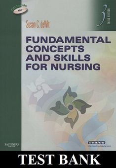 336 best nursing test banks images on pinterest fundamental concepts and skills for nursing 3rd edition test bank dewit fandeluxe Gallery