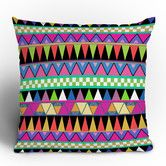 Found it at AllModern - DENY Designs - Bianca Green Zigzag Throw Pillow
