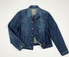 Energie jeans XXL uomo jacket denim giacca giubbino vintage