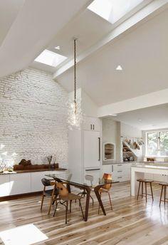 ¿ Cómo decorar diferentes ambientes cuando salón y cocina comparten el mismo espacio ?