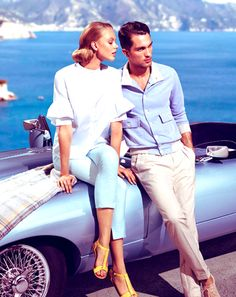 Siviglia's Spring/Summer 2013 Ad campaign featuring models Frida Gustavsson and Tobias Sørensen. Photos: Siviglia. Spotted at Design Scene. http://noi-h-saf.blogspot.ca/2014/07/next-to-me-24.html