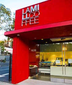 LAMILL Coffee Boutique - Perhaps the best coffee shop in Los Angeles. I appreciate LA's many unique restaurants because I grew up in a planned community full of franchise diners.
