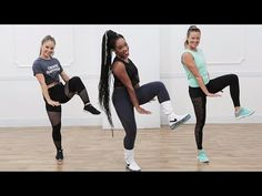 HIIT workouts are hard, and this one is no exception. The difference from your typical Tabata workout: this one features hip-hop moves. Lead by dancer,