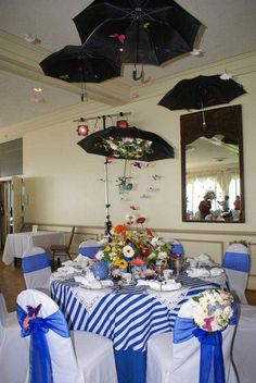 Mary Poppins table at the 2011 Grosse Pointe Theatre Tea.