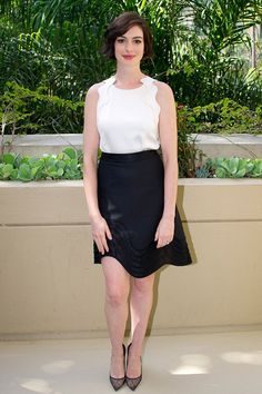 Best Dressed celebrity style and fashion - Anne Hathaway, Jessica Chastain (Vogue.com UK)