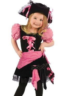 pink punk pirate tutu costume child girls infant toddler 2t 3t4t fast ship