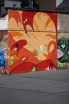 DUBLIN STREET ART - Tivoli Car Park