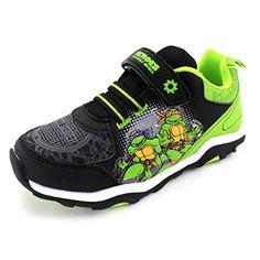 d28fcd21f8db Amazon.com  TMNT Teenage Mutant Ninja Turtles Boys Lighted Sneakers Shoes  (11 M US Little Kids