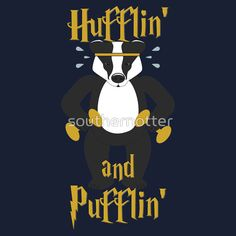 Hufflepuff Workout Tank by southernotter