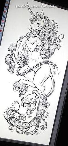 unicorn tattoo - Google Search