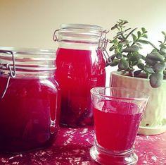 Beet and turmeric kvass recipe