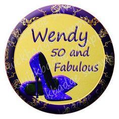 "Quickbadge on Twitter: ""#havingaparty let us design you a special #birthday #button #badge #womeninbiz #wineoclock #uksmallbiz #queenof :) https://t.co/NMeAE0KdXo"""