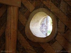 A natural home inside a barn in the Czech Republic.