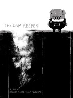 water dam keeper's animated short | Andrea Blasich