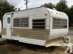 coachman 1969 vintage camper trailer w bathroom and