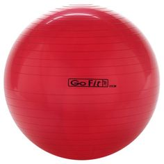 Shop GoFit Exercise Ball Red at Best Buy. Find low everyday prices and buy online for delivery or in-store pick-up. Go Fit, Pilates Workout, Cool Things To Buy, Fitness Models, Gym Equipment, Football, Exercise Balls, Cali, Extensions
