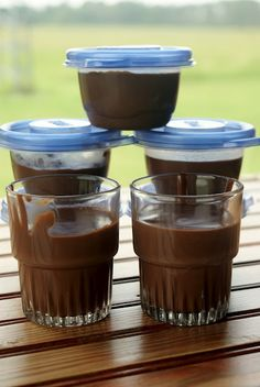 Off the Grid at -30: Recipe Thursday - Simple Chocolate Pudding