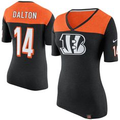 Andy Dalton Cincinnati Bengals Nike Women's Starters Only Name and Number T-Shirt - Black - $47.99
