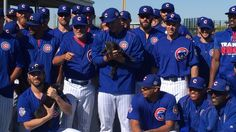 The Chicago Cubs had some special guests at training camp today. (Via SB Nation)