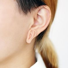 Little Third Ear Earring, kinda creepy, but cool :), lol