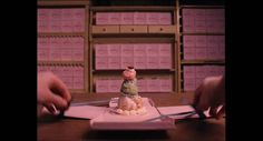 Mendl's box from Grand Budapest Hotel by Wes Anderson