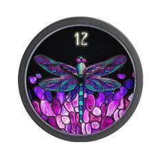 #clock #purple