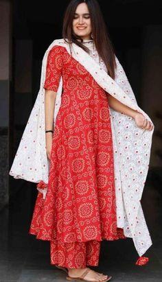 Indain Bollywood Style Pakistani Kurti Kurta With Plazzo Dupatta Set