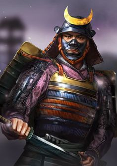 """Kosaka Danjo Masanobu One of the """"24 Generals of Takeda.""""  A close friend of Shingen and a veteran of many battles.  He was a leader in 'operation woodpecker' during 4th Kawanakajima, and was one of the leaders of the charge which drove of the Uesugi forces, thereby saving the Takeda army.  Later in life, he would compile the history of the Takeda clan in the """"Koyo Gunkan.""""  He was candid towards Takeda Katsuyori and was forced to retire as a result."""