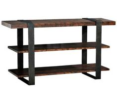 Klaussner Timber Forge Reclaimed Industrial Sofa Table | 55DowningStreet.com