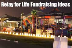 Relay for Life #Fundraising Ideas - The most recommended ideas and many more!  www.rewarding-fundraising-ideas.com/relay-for-life-fundraising-ideas.html  (Photo by DieselDemon / Flickr)
