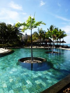 Pool in Mauritius | Heritage Awali, Bel Ombre (http://www.facebook.com/BeautyOfMauritius)
