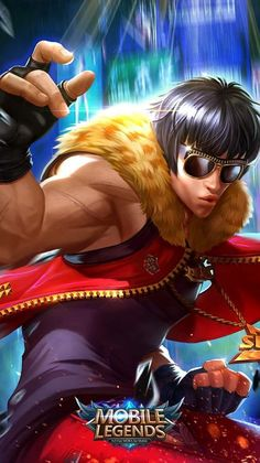 Chou the hip hop boy mobile legends Wallpaper Hd Mobile, Phone Wallpaper For Men, Hd Wallpapers For Mobile, Boys Wallpaper, Mobiles, Bruno Mobile Legends, Hp Mobile, Hero Fighter, Alucard Mobile Legends