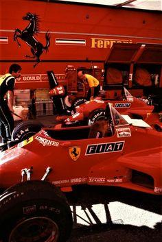 Alboreto 1984