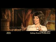 "Evangeline Lilly discusses her character ""Tauriel"" in Peter Jackson's  ""The Hobbit: The Desolation of Smaug"""