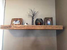 Bracket-less wall mantle /shelve by Tom Spivak Jr.