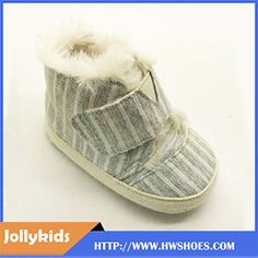 Non Slip Crib Baby Boots Fur Winter Baby Shoes