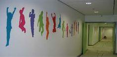 school corridor displays - Google Search