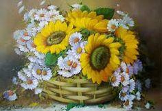 pintura country flores - Buscar con Google