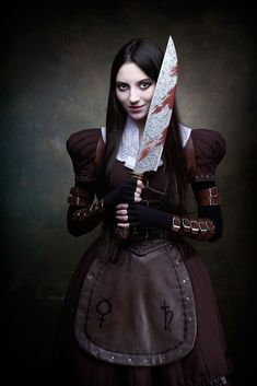 alice madness returns cosplay by Isilmarille