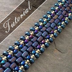 free super duo beading patterns | Tutorial. Czech Brick and Super Duo Beaded by VCArtisanOriginals, $6 ...