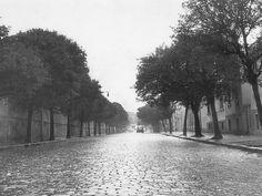 Rua Mato Grosso no bairro de Higienópolis, em janeiro de 1958