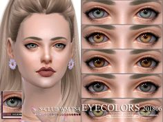 Eyecolors, 10 swatches, hope you like, thank you. Found in TSR Category 'Sims 4 Female Costume Makeup' Source: S-Club WM Eyecolors 201806 The Sims, Sims 4 Cas, Sims Cc, Jeffrey Campbell, Sims 4 Cc Eyes, Sims 4 Gameplay, Christian Louboutin, Sims 4 Cc Packs, Sims 4 Cc Makeup