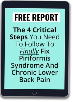 HEAL PIRIFORMIS SYNDROME Lower Back Pain Stretches, Upper Back Exercises, Chronic Lower Back Pain, Hip Pain, Low Back Pain, Hip Strengthening Exercises, Piriformis Exercises, Desk Exercises, Piriformis Muscle