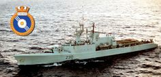 HMCS Margaree (DDH 230) Royal Canadian Navy, Canadian Army, Navy Day, Us Navy, Military Insignia, Navy Marine, Navy Ships, Battleship, Cold War